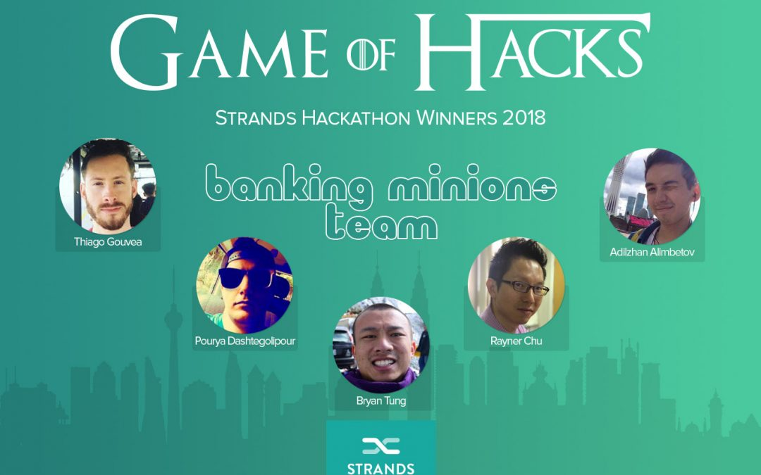 Strands 2018 Hackathon Generates Collaborative Ideas in the FinTech Space