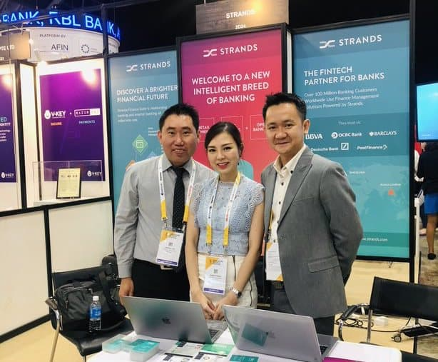 Strands Intelligent Banking Solutions at Singapore FinTech Festival