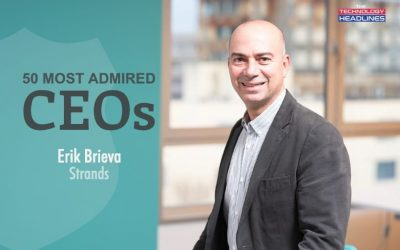 """Erik Brieva honored as """"50 Most-Admired CEOs"""" in the U.S."""