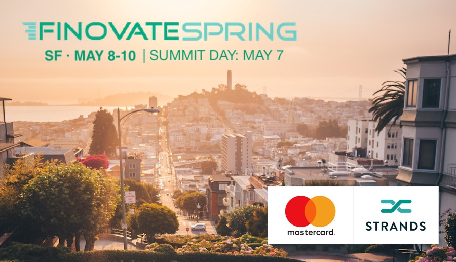 Strands and Mastercard to demo together at Finovate Spring 2019