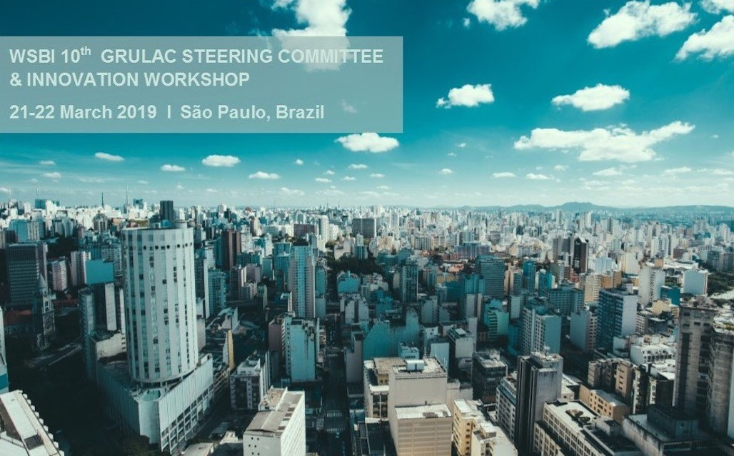 Albert Morales takes part in the World Savings Banks Institute event in São Paulo