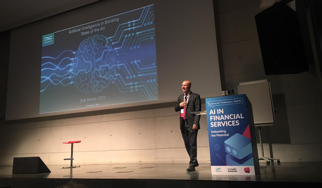 Erik Brieva Delivers Opening Keynote on AI in ESADE