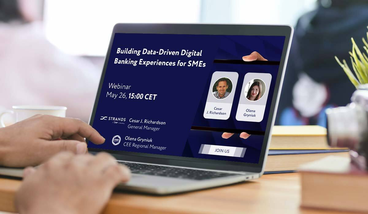 Webinar: Building Data-Driven Digital Banking Experiences for SMEs