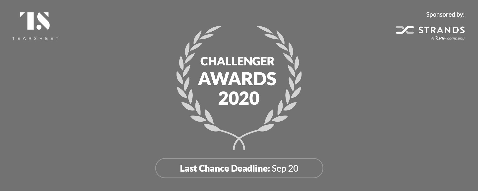Challenger Awards 2020