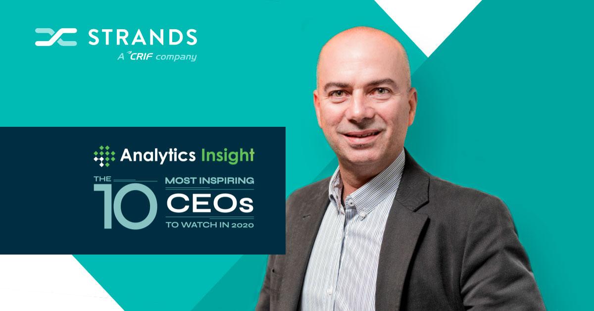Strands' Erik Brieva Among 'Top 10 Most Inspiring CEOs'
