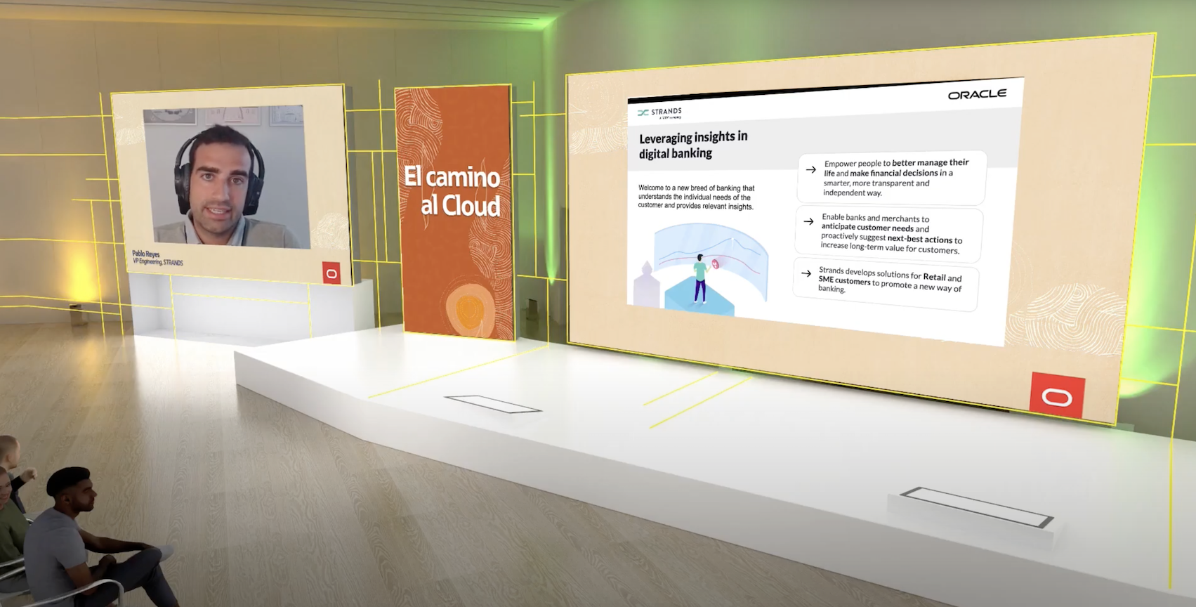 Oracle Event: Strands' Pablo Reyes Joins 'Cloud Revolution'