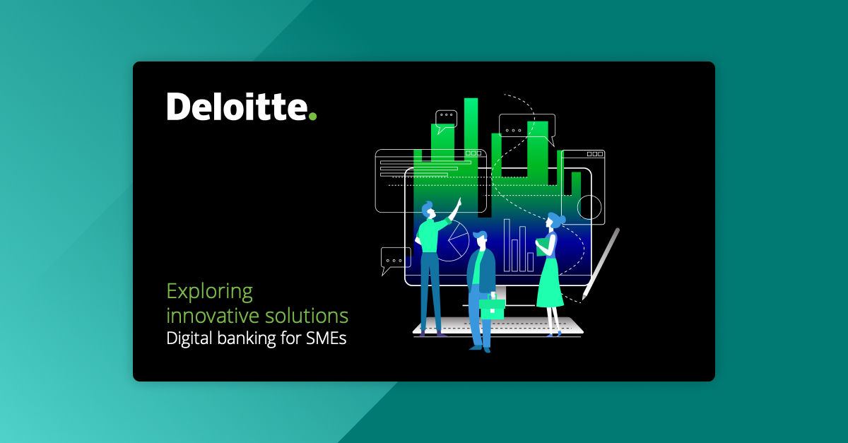 Strands, selected to take part in Deloitte's report 'Digital Banking for SMEs'